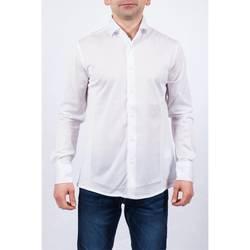 Abbigliamento Uomo Camicie maniche lunghe Alessandro Dell'acqua AD0138/T5511 11 B.co