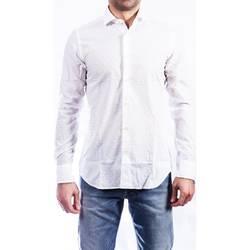 Abbigliamento Uomo Camicie maniche lunghe Xacus 61170.001/748 B.co