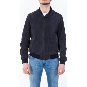 Abbigliamento Uomo Giubbotti Up To Be RUDOLF 801 BLU Giubbino Uomo Uomo Blu Blu