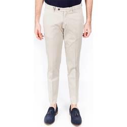 Abbigliamento Uomo Pantaloni 5 tasche Michael Coal RICKY 2395A 08 BEI Beige