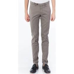 Abbigliamento Uomo Pantaloni 5 tasche Michael Coal RICKY 2380 09 FANGO Fango