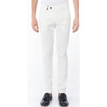 Abbigliamento Uomo Pantaloni 5 tasche Michael Coal RICKY 2380 06 PANNA Panna