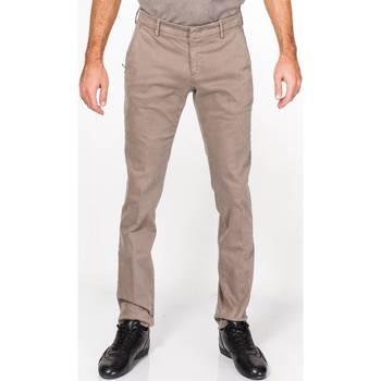Abbigliamento Uomo Pantaloni 5 tasche Michael Coal BRAD2000 19 FANGO Fango