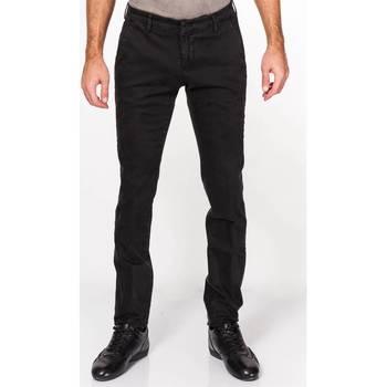 Abbigliamento Uomo Pantaloni 5 tasche Michael Coal BRAD2000 09 NERO Nero