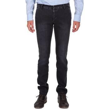 Abbigliamento Uomo Pantaloni 5 tasche Michael Coal BOB 1016 W039 Blu
