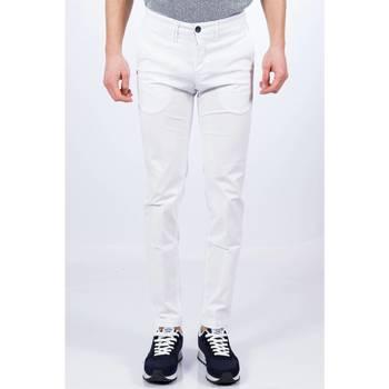 Abbigliamento Uomo Pantaloni 5 tasche Re-hash P249 MUCHA 2104 000 Bianco