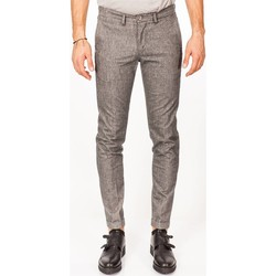 Abbigliamento Uomo Pantaloni 5 tasche Re-hash P249 2260 F001 Grigio