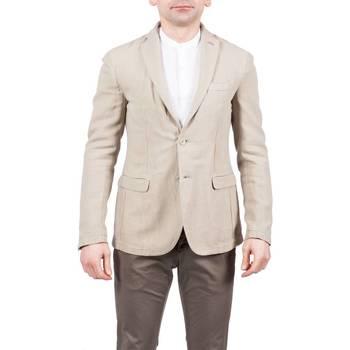 Abbigliamento Uomo Giacche / Blazer Barbati GI-JHON 401/41 BEIGE Giacca Uomo Uomo Beige Beige