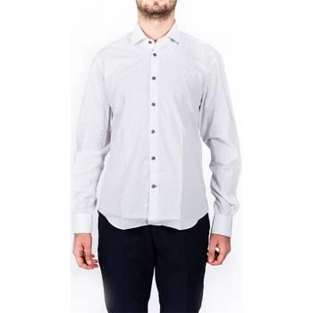 Abbigliamento Uomo Camicie maniche lunghe Barbati CA-VISON/118005/121 Camicia Uomo Uomo B.co B.co