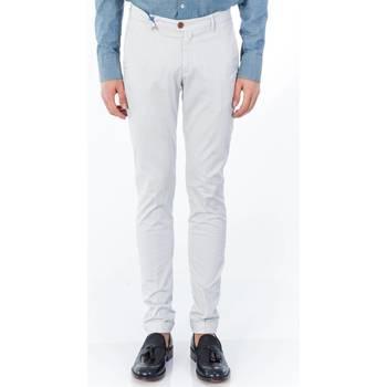 Abbigliamento Uomo Pantaloni 5 tasche Barbati ANTHONY 031/720 GRI Pantalone Uomo Uomo Grigio Perla Grigio Perla