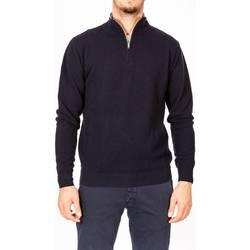 Abbigliamento Uomo Maglioni Moreno Martinelli 567354A/03 BLU Maglia Uomo Uomo Blu Blu