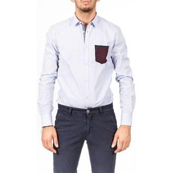 Abbigliamento Uomo Camicie maniche lunghe Koon TASK BS1 Celeste