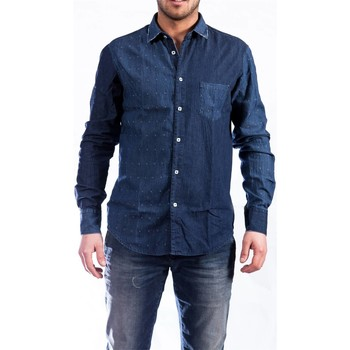 Abbigliamento Uomo Camicie maniche lunghe Koon PASS J SBM Denim