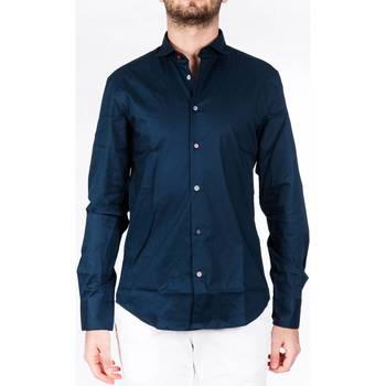 Abbigliamento Uomo Camicie maniche lunghe Koon N877 BLU Blu