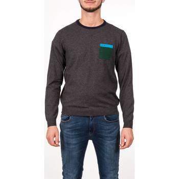 Abbigliamento Uomo T-shirts a maniche lunghe Sun68 27161 47 GRI SC Maglia Uomo Uomo Grigio Scuro Grigio Scuro