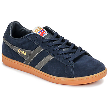 Scarpe Uomo Sneakers basse Gola EQUIPE SUEDE Blu / Bianco