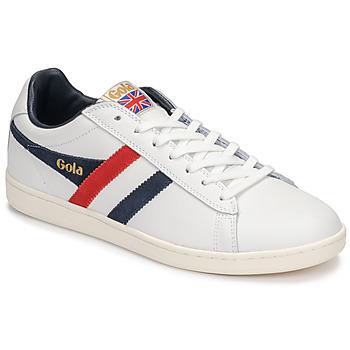 Scarpe Uomo Sneakers basse Gola EQUIPE Bianco / Blu / Rosso