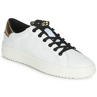 Scarpe Donna Sneakers basse Geox D PONTOISE Bianco / Cuivré