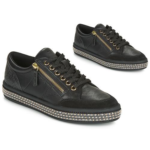Scarpe Donna Sneakers basse Geox D LEELU' Nero