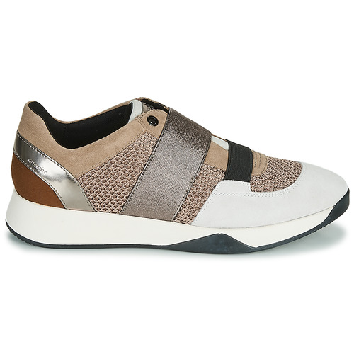 Gratuita Consegna Donna Sneakers 11500 Scarpe D Basse TaupeArgento Geox Suzzie fmI7Ygbyv6