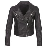 Abbigliamento Donna Giacca in cuoio / simil cuoio Ikks BM48145-02 Nero
