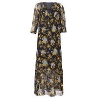 Abbigliamento Donna Abiti lunghi Ikks BP30195-02 Nero / Multicolore