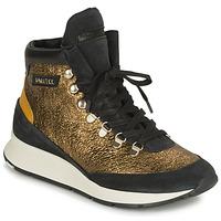 Scarpe Donna Sneakers basse Philippe Model MONTECARLO Oro / Nero