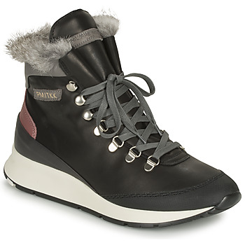 Scarpe Donna Sneakers alte Philippe Model MONTECARLO Nero