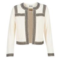 Abbigliamento Donna Gilet / Cardigan One Step MINA Bianco