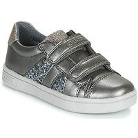 Scarpe Bambina Sneakers basse Geox J DJROCK GIRL Grigio