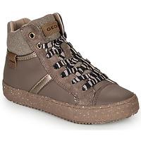 Scarpe Bambina Sneakers alte Geox J KALISPERA GIRL Grigio