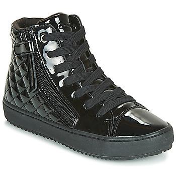 Scarpe Bambina Sneakers alte Geox J KALISPERA GIRL Nero