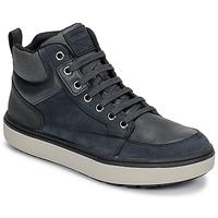 Scarpe Bambino Sneakers alte Geox J MATTIAS B BOY ABX Blu / Nero