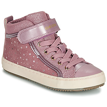 Scarpe Bambina Sneakers alte Geox J KALISPERA GIRL Rosa