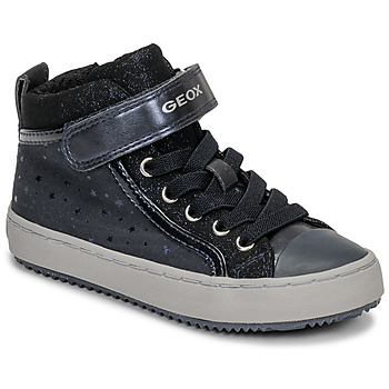Scarpe Bambina Sneakers alte Geox J KALISPERA GIRL Blu