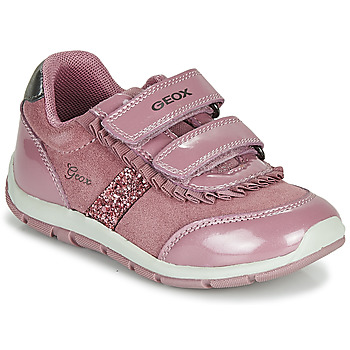 Scarpe Bambina Sneakers basse Geox B SHAAX Rosa