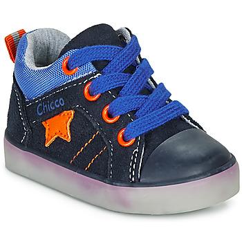 Scarpe Bambino Sneakers alte Chicco GRADO Blu