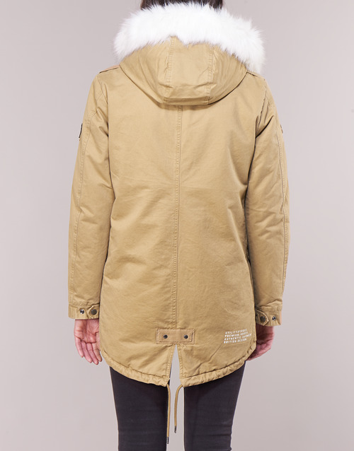 Donna Falcon Superdry Camel Rookie Parka SUVMzp