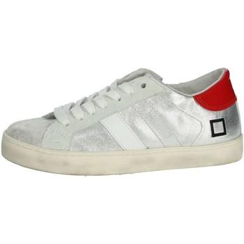 Scarpe Unisex bambino Sneakers basse Date HILL LOW  JR ARGENTO
