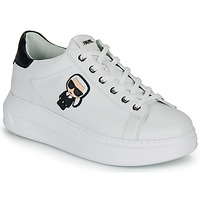 Scarpe Donna Sneakers basse Karl Lagerfeld KAPRI KARL IKONIC LO LACE Bianco / Nero