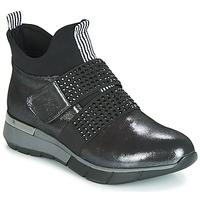 Scarpe Donna Sneakers alte Metamorf'Ose FAGNO Nero