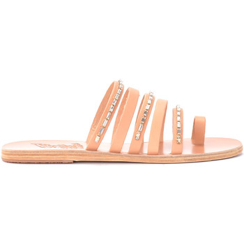 Scarpe Donna Sandali Ancient Greek Sandals Sandalo modello Niki Diamonds in pelle Beige