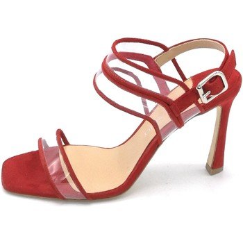 Scarpe Donna Sandali The Seller S8452 Rosso