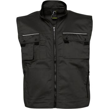 Abbigliamento Gilet / Cardigan Sols ZENITH PRO - WORK Negro