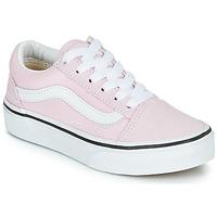 Scarpe Bambina Sneakers basse Vans UY OLD SKOOL Rosa