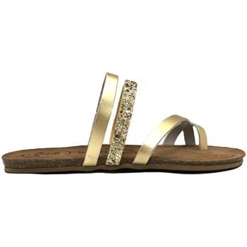 Scarpe Donna Sandali Amoa sandales LORGUES Or Oro