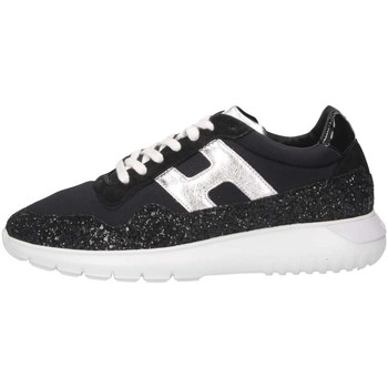 Scarpe Bambino Sneakers basse Hogan HXR3710AP31KKK10353 Sneakers Bambina Nero Nero