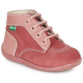 Scarpe Bambina Stivaletti Kickers BONBON Rosa
