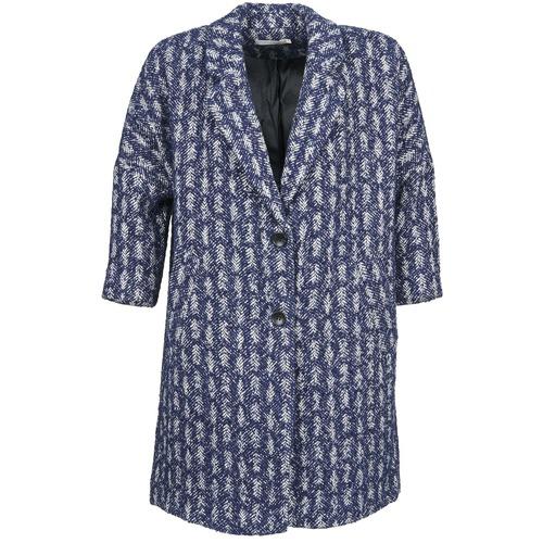 8250 Cappotti Gratuita Abbigliamento Donna U Soon See BluBianco Riffle Consegna 1cFTlJ3uK