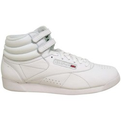 Scarpe Donna Sneakers alte Reebok Classic FREESTYLE HI Bianco